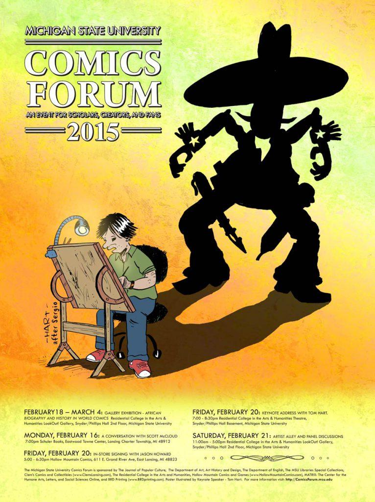 2015MSUComicsForum